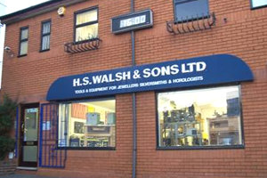 HS Walsh Birmingham showroom