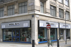 HS Walsh Hatton Garden, London Showroom