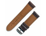 Soft Calf 26mm Brown Leather Strap With Stainless Steel Buckle - B623
