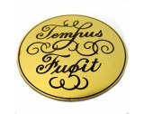 Tempus Fugit, Brass Finish, Diameter 62mm - CD301