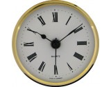 Insertion Battery Clock Movement Roman White Dial Ø65mm - CM531