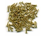 "Wood Screws Brass No.2 3/8"" - CS3059"