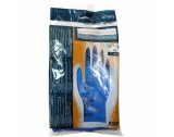Latex gloves cotton flocked Ansell 8.5 - 9.0