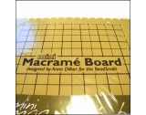 New Item Beadsmith Mini Macrame Board by Anne Decker 7.5 Inches x 10.5 Inches MWB10- FB10