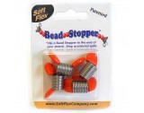 Bead Stoppers - Orange Tips - FB42ORANGE