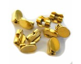 Charnier Joint, Base Oval 5x4mm, Gilt - FB633
