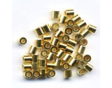 Crimp Tubes Silver - Gold Plated - Small - FC1161