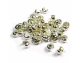 Crimp Bead Covers - Silver - 3mm - FC117