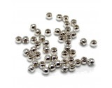 Crimp Beads Silver, 1.8mm - FC211