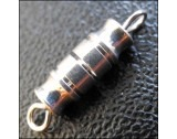Silver Plated Barrel Clasps - FC51