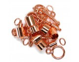Kumihimo Copper Plated Findings Assortment