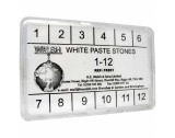 Paste Stone Assortment, 12 Pieces in Different Sizes - FS201