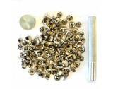 Real Leathercraft Rivet Setters Kit