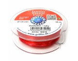 Stretch-Magic, Red Elastic Cord, Thickness 1mm - FT464