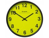High Contrast Twelve Inch Battery Clock - G200HIVIZ