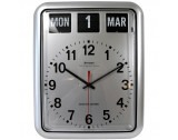 Grayson Digital Silver Easy to Read Alzheimer's Dementia Calendar Clock - G237A