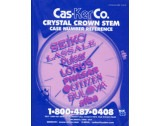 Watch Crystal Crown & Stem Case Number Reference Guide - HB1711