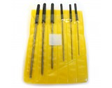 Economy Set Of 6 Cutting Broaches 0.80 - 2.30mm - HB885