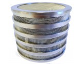 Elmasolvex VA 80mm Electropolished Stainless Steel Basket Complete - HCVA01