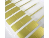 Gold 11x16mm Jewellery Labels - HL369 New Item