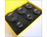 Glass Fitting Dies For Flat Mineral Watch Glasses Ø19-40mm (Set Of 6) Bergeon 6527-6P - HP6527-6P