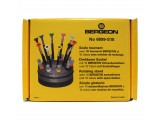 Bergeon 6899-S10 Ergonomic Screwdriver Set - HS6899-S10