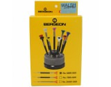 Bergeon 6899-S09 Ergonomic Stainless Steel Screwdriver Set - HS6899-S09