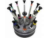 Bergeon 7965-S10 Set Of 10 Screwdrivers On Special Profile Stand - HS7965-S10