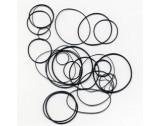 Assortment Of 'O' Ring Waterproof Gaskets For Watch Cases - MX133