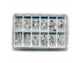 Horotec MSA99.165 Nickel Plated Quartz Watch Hand Assortment - MY165