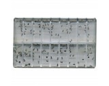 Assortment Of Stainless Steel Flat Head Watch Case Back Screws - MY240