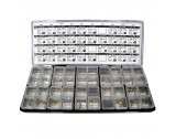 Comprehensive Japanese Watch Crown (Button) Assortment - MY256