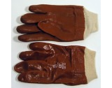 PVC Gloves (with knitted cuff) - T83811