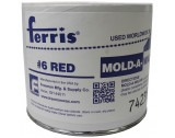No. 6 Red Mold-A-Wax (Soft) versatile wax ferris,carving wax,wax