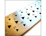 Drawplate Triangular 31 Hole 6mm to 3mm - TD463