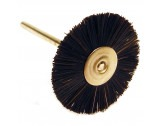 Mounted Black Bristle Wheel - TM515B