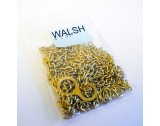 Chain, Brass Plated Steel, 61 Links per Foot - CC541