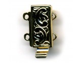 Base Metal Clasp, Gold Plated - FC2310