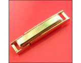 Rolled Gold 4mm Fold-over Ladder Clasp