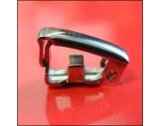 Stainless Steel Fold over Clasp 12x4mm