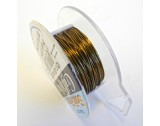 Craft Wire - Bronze - 0.52mm Thick - 18.28M Length - FT224BRONZE