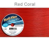 Soft Flex Wire .019 Red Coral Length 30 ft, 49 Strands ? 0.45m - FT452REDC