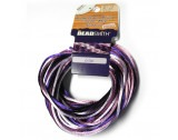 Kumihimo 2mm Lilac Coloured Rattail, 4 Strands