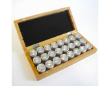 Storage Box Wooden With 24 Insert Boxes - HC1324