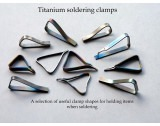 Knew Concepts Titanium Soldering Clamps  strips