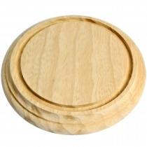 Wooden Clock Base For Dome Ø152mm - CB176