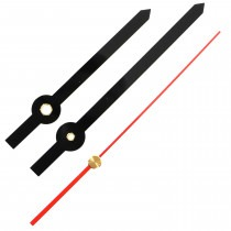 100mm Hands for Radio Controlled MSF Quartz Clock Movement - CH211