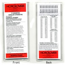 Horolovar 400 Day Suspension Wires Assortment (Intermediate) - CY201