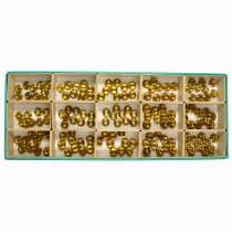 A*F Screw Bush Assortment Of 150 - CY30