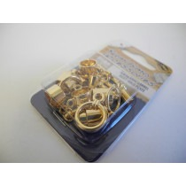 Kumihimo Gold Plated Findings Assortment